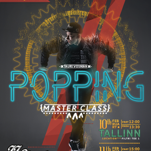 Popping Masterclass koolitus