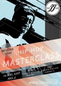 Hip-Hop Masterclass /w Joel Juht